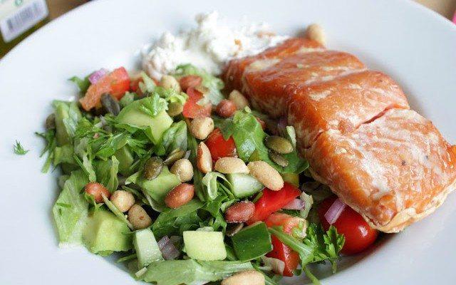 mat vid träning och viktnedgång