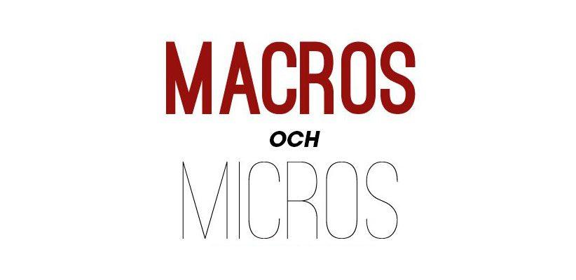 makros-och-mikros, makros, macros, vad är makros och mikros vad är makros makros deff, makros kost vad är mikros