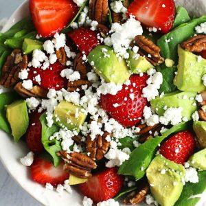 protein i sallad