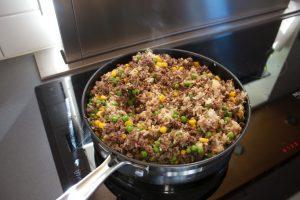 proteinrik risotto recept, matlåda risotto deff