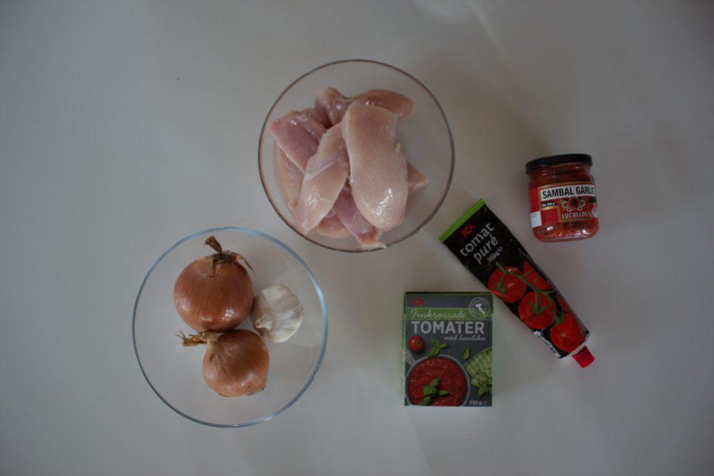 pulled chicken ingredienser, pulled chicken tillagning, pulled chicken hur, matlåda deff