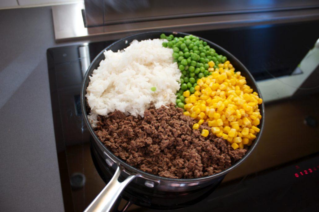 proteinrik risotto, recept risotto protein, recept proteinrik risotto, recept matlåda protein, recept proteinmatlåda, foodprepp recept, foodprepp