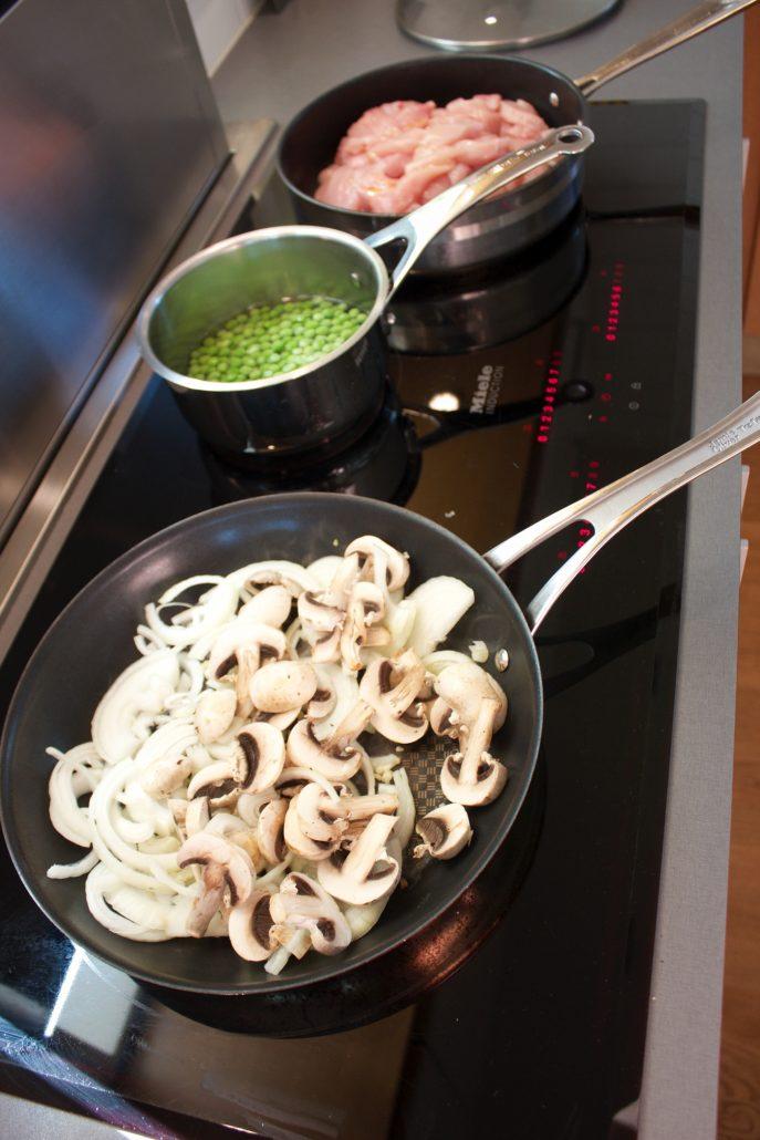 kyckling carbonara, pasta carbonara deff, pasta kyckling matlåda, pasta carbonara kyckling, chicken carbonara, kyckling carbonara matlåda, kyckling keso recept